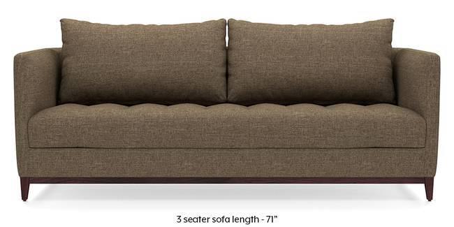 Florence Compact Sofa (Dune Brown) (Dune, Fabric Sofa Material, Compact Sofa Size, Regular Sofa Type)