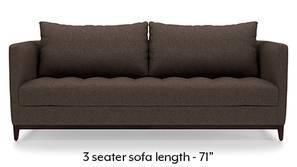 Florence Compact Sofa (Mocha Brown)