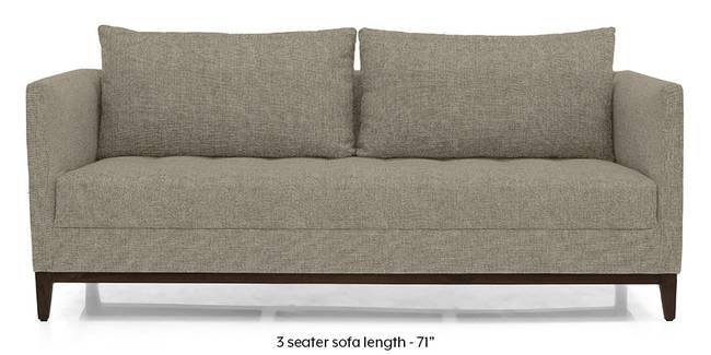 Florence Compact Sofa (Mist Brown) (Mist, Fabric Sofa Material, Compact Sofa Size, Regular Sofa Type)