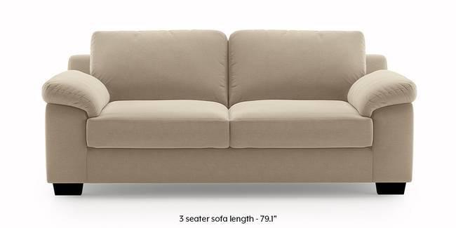 Esquel Sofa (Dark Beige) (3-seater Custom Set - Sofas, None Standard Set - Sofas, Dark Beige, Fabric Sofa Material, Regular Sofa Size, Regular Sofa Type)