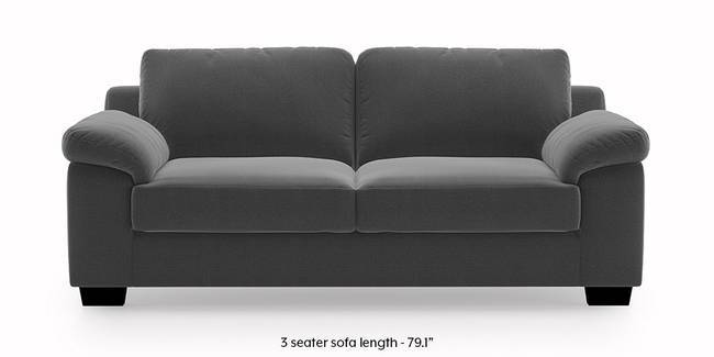 Esquel Sofa Dark Grey 3 Seater Custom Set Sofas None