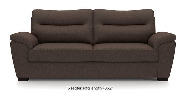 Adelaide Sofa (Mocha Brown) (Mocha, Fabric Sofa Material, Regular Sofa Size, Regular Sofa Type)