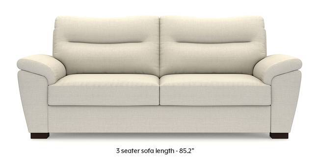 Adelaide Sofa (Pearl White) (Pearl, Fabric Sofa Material, Regular Sofa Size, Regular Sofa Type)
