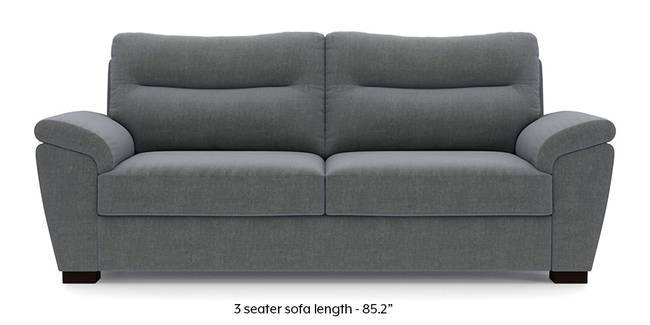 Adelaide Sofa (Smoke Grey) (Smoke, Fabric Sofa Material, Regular Sofa Size, Regular Sofa Type)