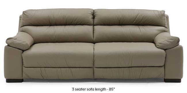 Thiene Sofa (Cappuccino Italian Leather) (Cappuccino, Regular Sofa Size, Regular Sofa Type, Leather Sofa Material)