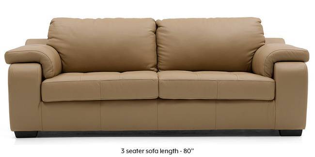 Trissino Sofa (Camel Italian Leather) (Camel, Regular Sofa Size, Regular Sofa Type, Leather Sofa Material)