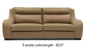 Vicenza Sofa (Camel Italian Leather)