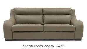 Vicenza Sofa (Cappuccino Italian Leather)