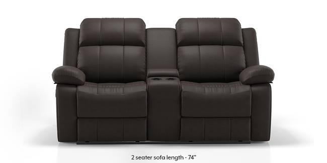 Robert Home Theatre Rocker Recliner Sofa Set (Chocolate Leatherette) (1-seater Custom Set - Sofas, None Standard Set - Sofas, Leatherette Sofa Material, Regular Sofa Size, Regular Sofa Type, Chocolate Leatherette)