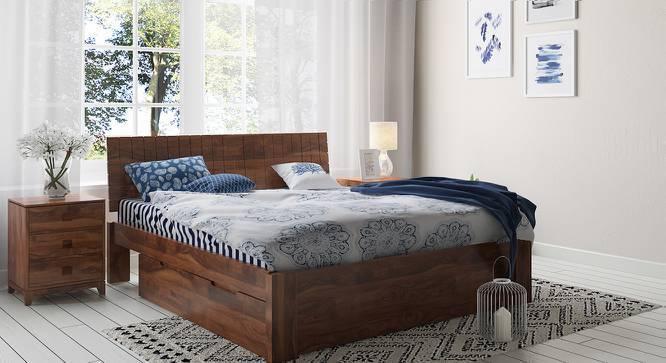 Magellan Bedside Table (Teak Finish) by Urban Ladder