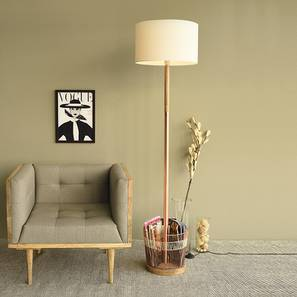 Valletta Floor Lamp (Copper Base Finish) by Urban Ladder