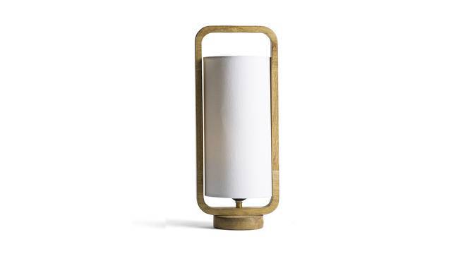 Odessa Table Lamp (Natural Base Finish) by Urban Ladder