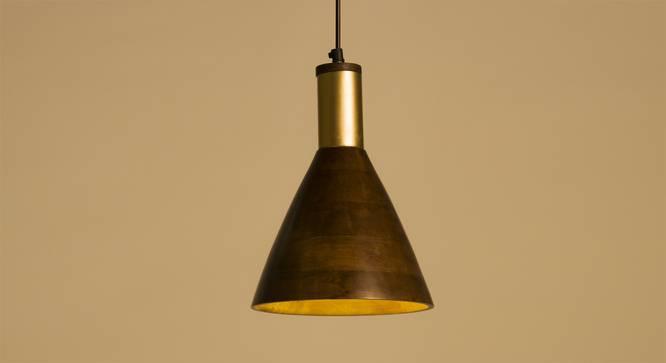 Redding Hanging Lamp (Light Walnut Finish) by Urban Ladder