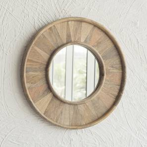 Peyto Wall Mirror (Natural Finish) by Urban Ladder