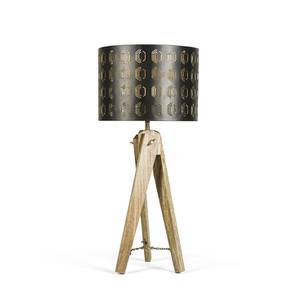 Tampa Table Lamp (Natural Base Finish) by Urban Ladder