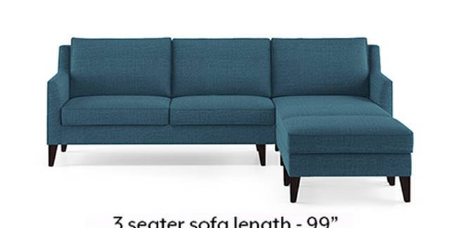 Greenwich Sofa (Fabric Sofa Material, Regular Sofa Size, Soft Cushion Type, Sectional Sofa Type, Sectional Master Sofa Component, Colonial Blue)