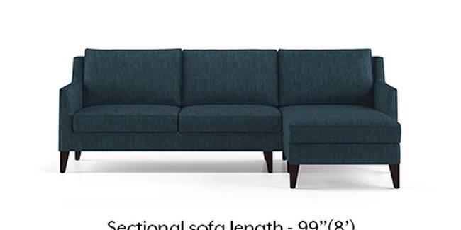 Greenwich Sofa (Indigo Blue, Fabric Sofa Material, Regular Sofa Size, Soft Cushion Type, Sectional Sofa Type, Sectional Master Sofa Component)