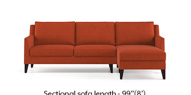 Greenwich Sofa (Lava, Fabric Sofa Material, Regular Sofa Size, Soft Cushion Type, Sectional Sofa Type, Sectional Master Sofa Component)