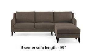 Greenwich Sectional Sofa (Pine Brown)