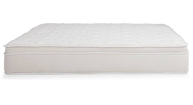 Cloud Pocket Spring Mattress with Memory Foam Eurotop (King Mattress Type, 75 x 72 in Mattress Size, 10 in Mattress Thickness (in Inches)) by Urban Ladder