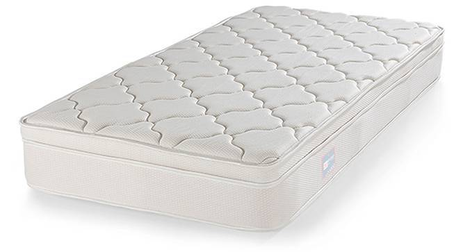 Cloud Pocket Spring Mattress with Memory Foam Eurotop (Single Mattress Type, 75 x 36 in Mattress Size, 10 in Mattress Thickness (in Inches)) by Urban Ladder