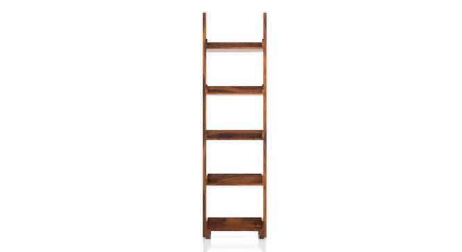 Austen Bookshelf (45-book capacity) (Teak Finish) by Urban Ladder