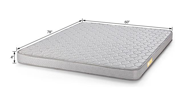 Essential Foam Mattress (Queen Mattress Type, 78 x 60 in (Standard) Mattress Size, 4 in Mattress Thickness (in Inches)) by Urban Ladder