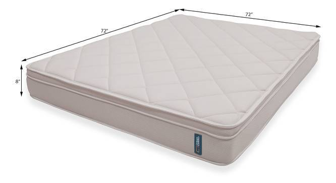 Cloud Pocket Spring Mattress with Memory Foam & Temperature Control (King Mattress Type, 8 in Mattress Thickness (in Inches), 72 x 72 in Mattress Size) by Urban Ladder
