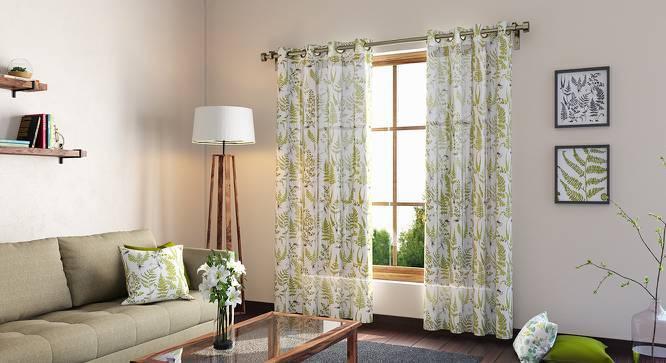 """Wilderness Curtain - Set Of 2 (54""""x84"""" Curtain Size, Wild Fern Pattern) by Urban Ladder"""