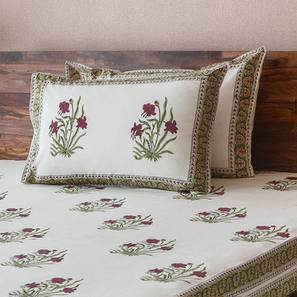 Ayana Bedsheet Set (Double Size, Multi Colour) by Urban Ladder