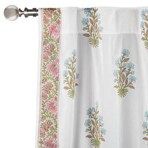 "Lorea Curtain - Set Of 2 (Door Curtain Type, Multi Colour, 54""x84"" Curtain Size) by Urban Ladder"