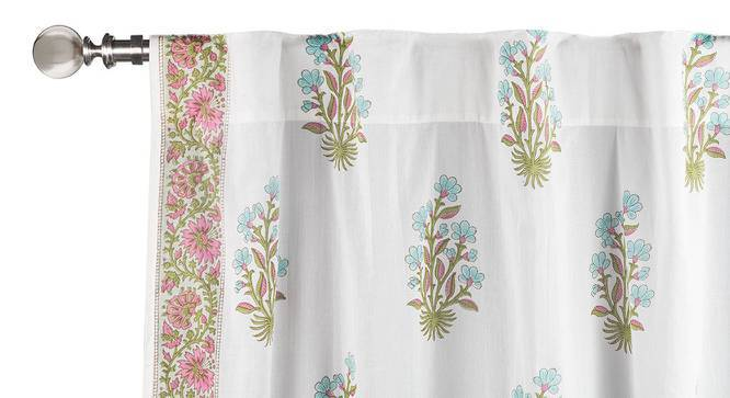 "Lorea Curtain - Set Of 2 (Door Curtain Type, Multi Colour, 54""x84"" Curtain Size) by Urban Ladder"
