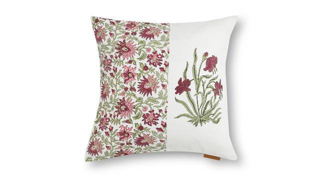 """Ayana Cushion Cover - Set Of 2 (16"""" X 16"""" Cushion Size, Multi Colour, Element Pattern) by Urban Ladder"""