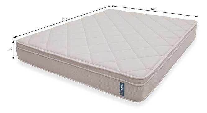 Cloud Pocket Spring Mattress with Memory Foam & Temperature Control (Queen Mattress Type, 78 x 60 in (Standard) Mattress Size, 8 in Mattress Thickness (in Inches)) by Urban Ladder