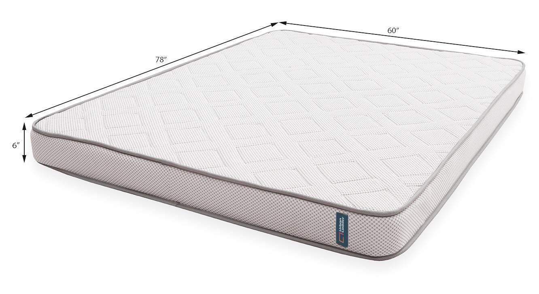 Theramedic memory foam mattress with latex 07