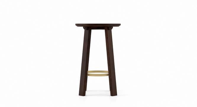 Orbis Stool (American Walnut Finish) by Urban Ladder