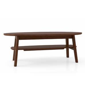 Colbert Coffee Table (Dark Walnut Finish) by Urban Ladder