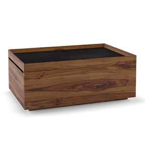 Berman Storage Coffee Table (Teak Finish) by Urban Ladder