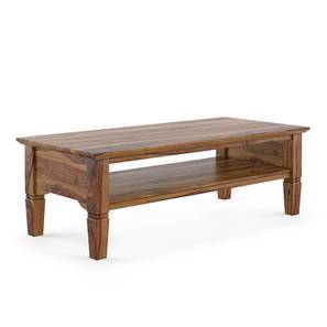 Malabar Storage Coffee Table Teak Finish With Shelves Configuration By Urban Ladder