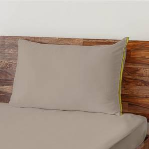 Serena 300 TC Sateen Bedsheet Set (Single Size, Cement Grey) by Urban Ladder