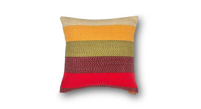 """Colour Block Cushion Covers - Set Of 2 (16"""" X 16"""" Cushion Size, Stripes  Pattern) by Urban Ladder"""