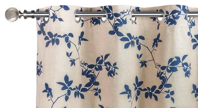 "Botanical Blueprint Door Curtains - Set Of 2 (54"" x 108"" Curtain Size, Branch) by Urban Ladder"