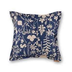 Botanical Blueprint Cushion Cover - Set Of 2 (Spring Pattern) by Urban Ladder
