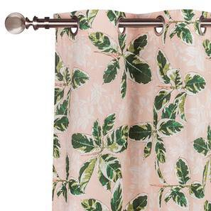 """Bloomingdale Window Curtains - Set Of 2 (54"""" x 60"""" Curtain Size, Decora) by Urban Ladder"""