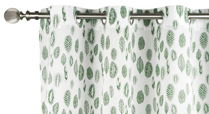 """Bloomingdale Door Curtains - Set Of 2 (54""""x84"""" Curtain Size, Calathea) by Urban Ladder"""