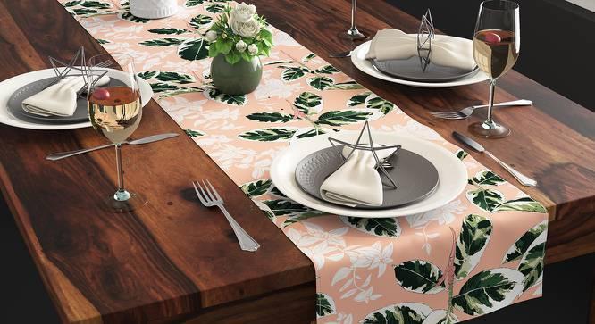 Bloomingdale Table Runner (Decora & Calathea Pattern) by Urban Ladder