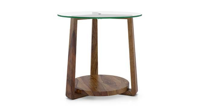 Jones Side Table (Teak Finish) by Urban Ladder