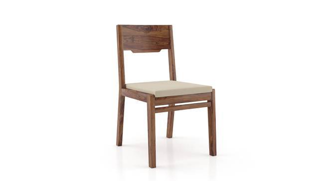Kerry Dining Chairs - Set Of 2 (Teak Finish, Wheat Brown) by Urban Ladder
