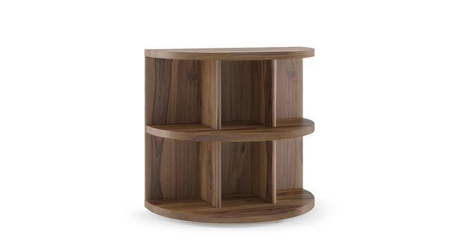 Newton Side Table (Teak Finish) by Urban Ladder