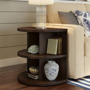 Newton Side Table Mahogany Finish By Urban Ladder